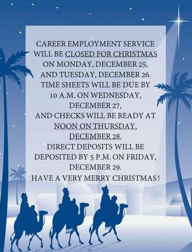 christmas holiday jobs london