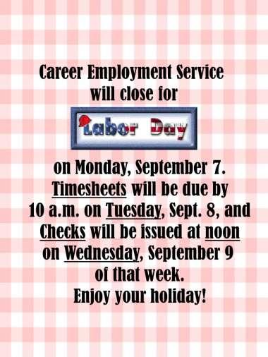 Happy Labor Day! image
