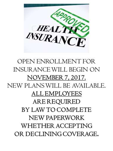 Insurance Open Enrollment image