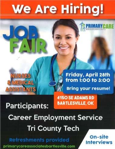 Join Us at the Job Fair! image