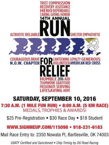 Red Cross Run for Relief This Saturday! image