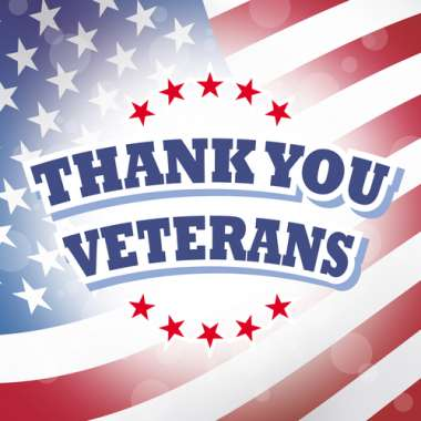 Thank you, veterans! image